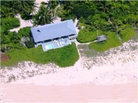 Fabulous beach house on Hope Town's famous pink sand beach. Coconuts line your circular drive - enjoy privacy as 3 bedroom pods separated by breezeways or gardens. Walk the beach to Hope Town. Cozy, c