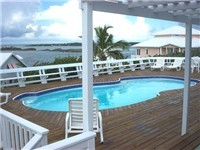 Rental house in Abaco with amazing views
