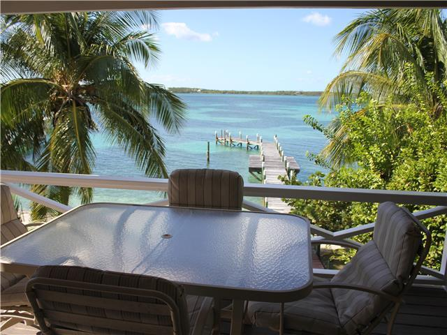 View of Sea of Abaco from deck