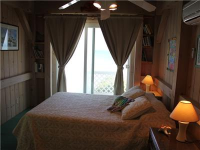 Guest Bedroom looking towards Ocean