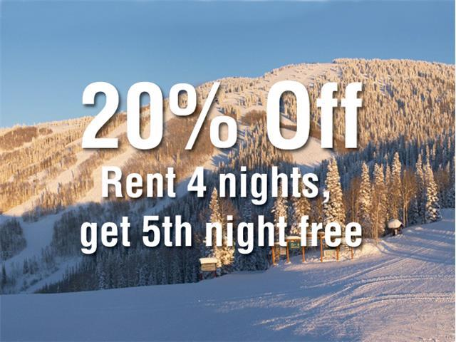 Rent 4nts, get 5th Night Free