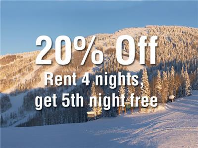 <p> 20% Off! Rent 4nts, Get 5th Night FREE! </p> - 253