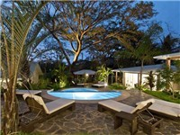 Guanacaste tree crowns the poolside ambiance!