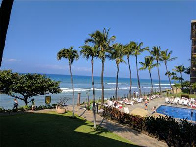 Can't get much Closer to the Ocean! - Kaanapali Shores 259- 2 Bedroom/2 Bath Amazing Ocean Front!