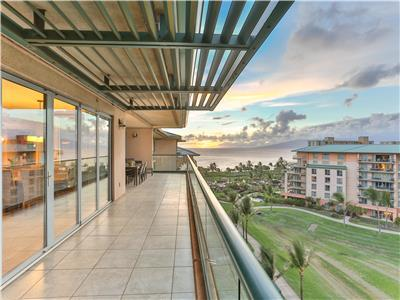 Great Ocean & Mountain Views & Huge Party Lanai! - Honua Kai - Hokulani 836 - 2 Bed - Amazing!