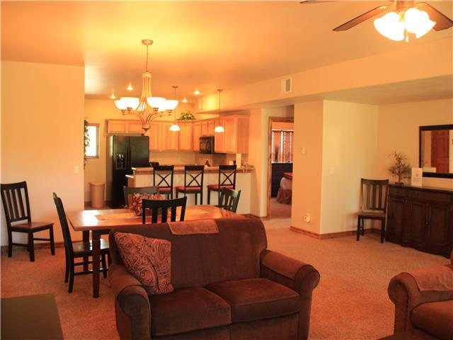 Pagosa Springs, CO Luxury Condo Links 2 bedroom, 2 bath