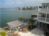 Small Complex has Docks, Pool, Gazebo on Bay