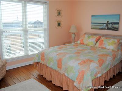 Bedroom #3 has Queen bed  (first floor)