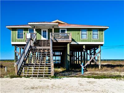Dauphin Island Elevated Beachhouse in Dauphin Island