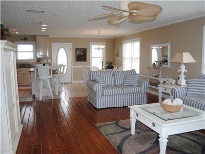 Open floorplan, spacious and comfortable
