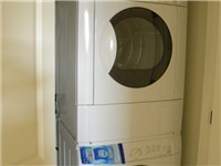High-Efficiency Washer/Dryer included.