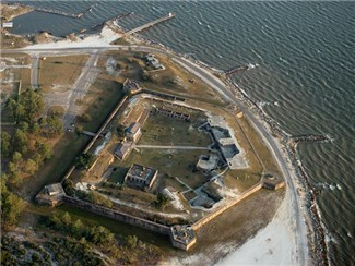Historic Fort Gaines on Dauphin Island, AL