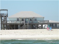 Great 3 bedroom direct Gulf-front beach house