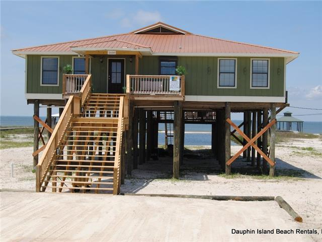 dauphin island vacation rental 2 5 bath waterfront