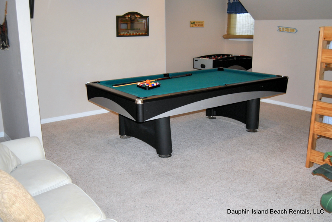 Dauphin Island Rental Gulf Front Beach House With Pool And Game Room - Pool table jack rental