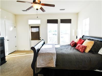 Master Bedroom has Queen bed and private bath