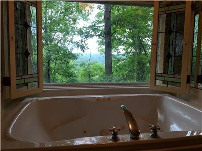 Spa Tub for Two with Amazing Views