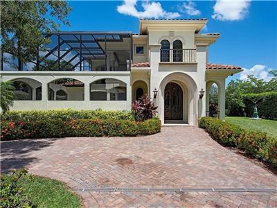Olde Naples 2012 Build Luxury Mansion