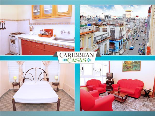 Amazing apartment from Caribbean Casas for up to 4 people in Havana center!