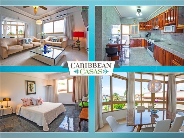 Apartment Luz in trendy Miramar (central Havana), with Caribbean Casas!