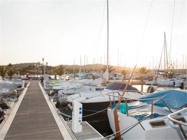 The Porquerolles Marina