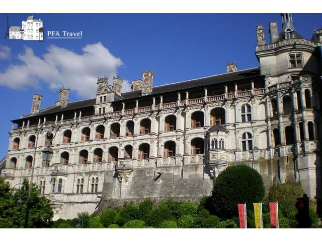 The Blois castle