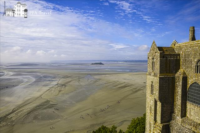 View from the Mont Saint Michel
