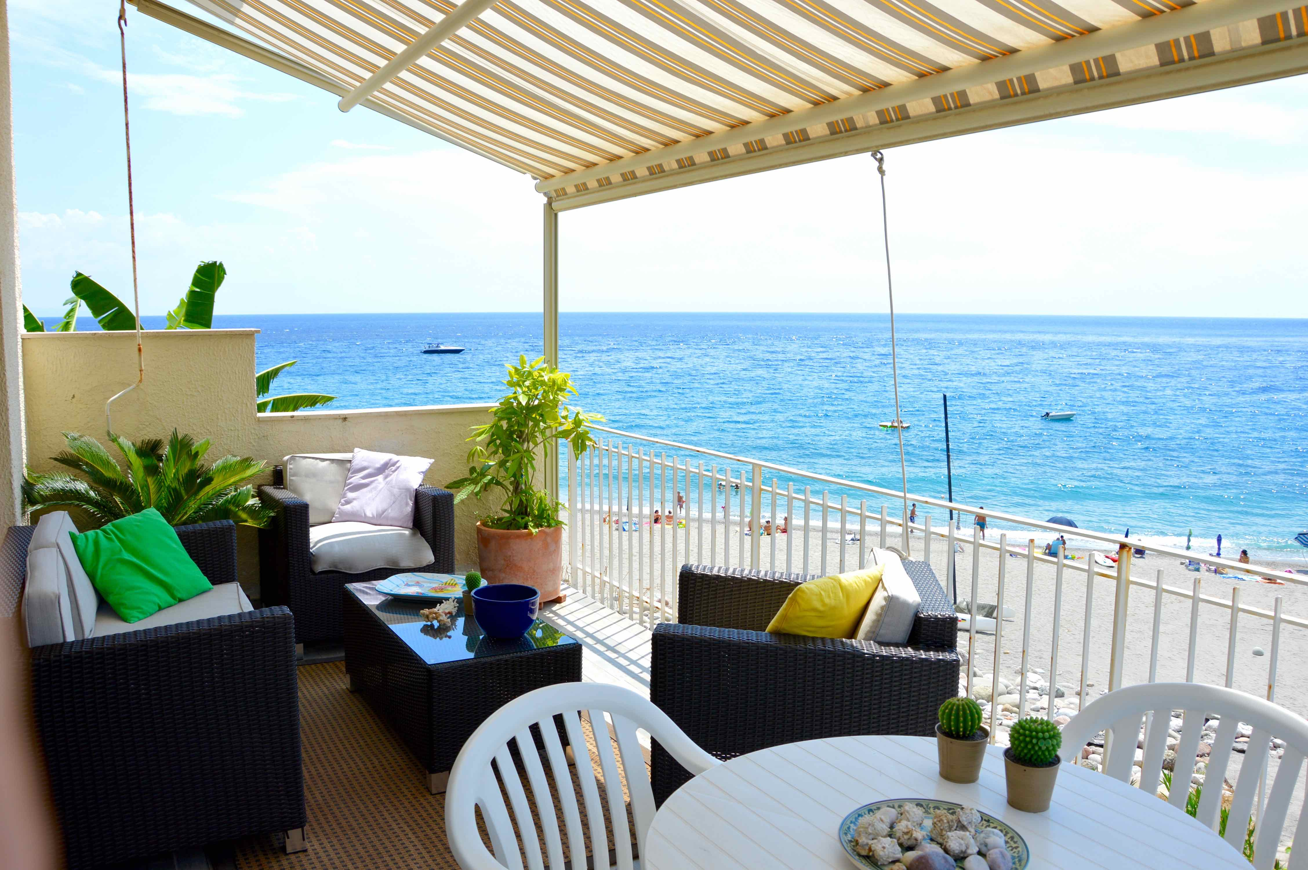 Holiday apartment Peonia house - House on the beach near Taormina (1976992), Sant'Alessio Siculo, Messina, Sicily, Italy, picture 16