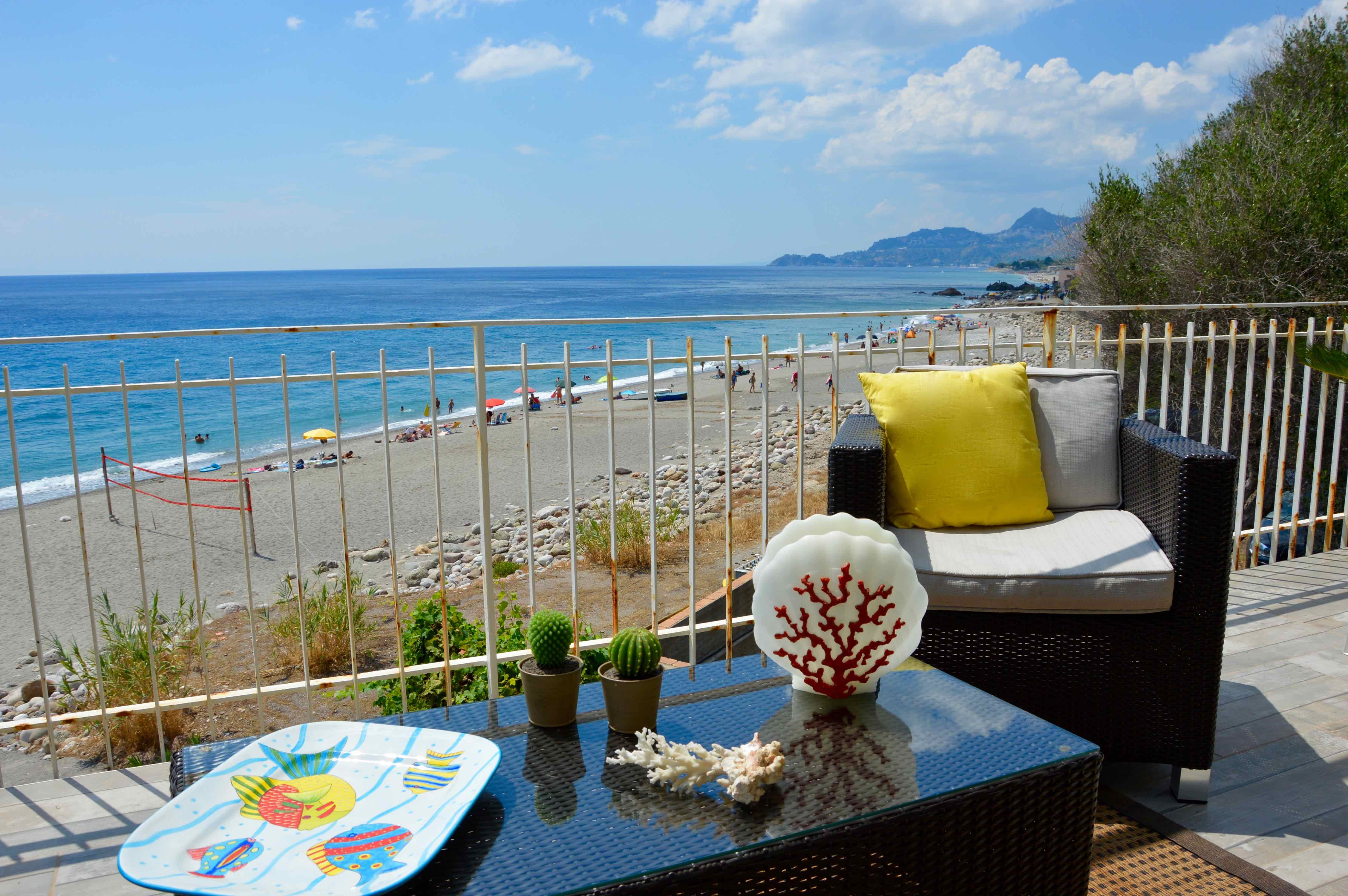 Holiday apartment Peonia house - House on the beach near Taormina (1976992), Sant'Alessio Siculo, Messina, Sicily, Italy, picture 6