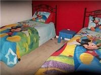 Twin bedroom view 3