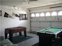 Game Room w/ Pool, foosball and Darts