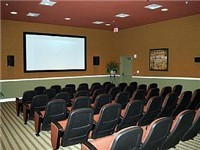 Theater located on property. Movies shown through the week.