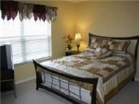 One of Two Queen Bedrooms