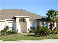 Exterior of your vacation home in beautiful community and close to the parks.