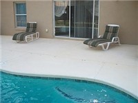 Sparkling pool and deck