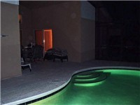 Lite Pool for those evening swims