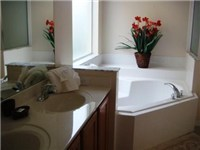 Bathroom with Garden Tub and Shower