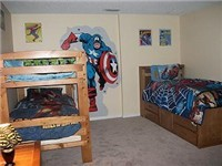 Boys Bunk and twin room