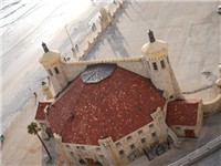 Another Ariel view of the banshell!  Many a fun times has been held here. Read the history of the bandshell opposite.