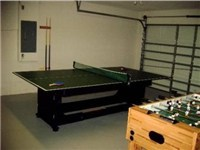 Game Room / Ping Pong / Foosball