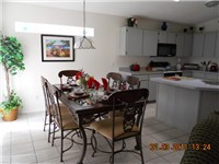 Kitchen Dinette area