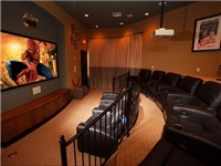 Theater in Clubhouse with featured shows during the week. Check at clubhouse for movies and times.