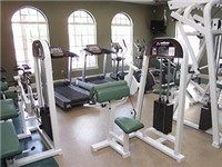 Fitness center on property