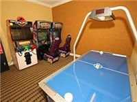 Games located at the clubhouse