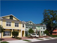 Townhouses in Coral Cay