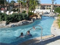 You'll love the lazy river!