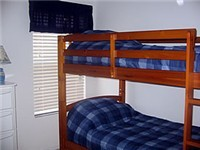 Bunk Beds plus a twin bed