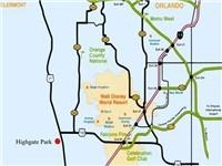 Highgate Park Map
