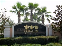 Coral Cay Resort Entrance