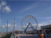 Ferris Wheel on the Boardwalk